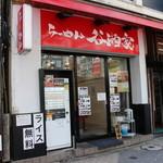 らーめん 谷瀬家 - お店外観(左隣に「壱角家」があります)