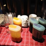 Japanese Dining & Wine じょうのや - セルフのジュース、コーヒーなど