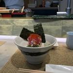 プレミアムレストラン 東京 金のダイニング 鮪金 - 海苔も