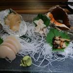 魚男 - ⑫欲張り活貝4種盛