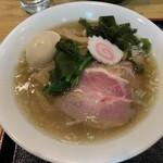 つけ蕎麦えん藤 - 料理写真:ノスタルジック中華そば 500円+中盛り50円