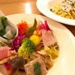 トレヴァッリ - ランチの前菜盛り合わせ