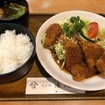 湊庵 - 魚フライ定食