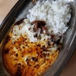 焼鳥 Ajito - パキスタンカリー 500円 + とろけるチーズ 100円