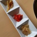 焼鳥 Ajito - カレーのお供(セルフサービス)