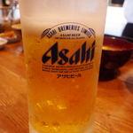 魚がし天ぷら 魚天 - ランチビール 小サイズです