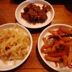魚がし天ぷら 魚天 - お惣菜3種