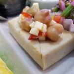 野菜と糀のカフェ このはな - 高野豆腐でブルスゲッタ