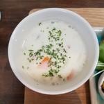 野菜と糀のカフェ このはな - 大豆粉入り豆乳シチュー