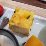野菜と糀のカフェ このはな - ふくさ焼(かぼちゃ豆腐入)