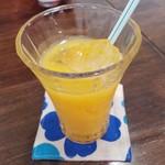 野菜と糀のカフェ このはな - オレンジジュース