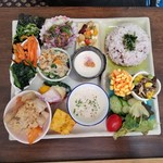 野菜と糀のカフェ このはな - 「このはなワンプレートランチ (1000円)」