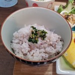 野菜と糀のカフェ このはな - 雑穀米(自家精米) 野菜ふりかけ