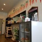 野菜と糀のカフェ このはな - 店内の様子