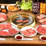 焼肉 山水 - 料理写真:王道コース
