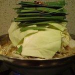 塩もつ鍋 権屋 - 塩モツ鍋