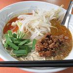 ぶんりゅう - ピリ辛担々麺風のぶんりゅう麺700円。