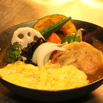 札幌スープカレー Sha−La–La - 料理写真:とろ玉チーズチキン