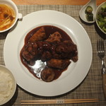熱香森 - 平日限定10食 特製黒酢と葡萄の酢豚ランチ