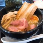 麺場 帆月 - 料理写真:醤油 (バラチャーシュー、メンマトッピング)