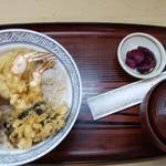 明月 - 天丼(中)・1,200円