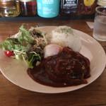 cafe 泉 - ハンバーグプレート