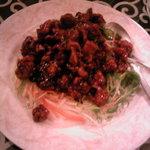 10597247 - 鶏のカラあげ四川山椒煮