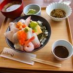 kyoutangochisanshokudouajikouboukaisenhisami - 海鮮丼(月)