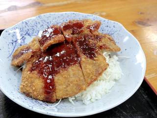 讃岐うどん六平 - ソースカツ丼