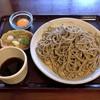手打ちそば 庵 - 料理写真:ざるそば・一斤半(1150円)