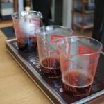 かなざわ珈琲 - コーヒー教室、実験中