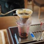 かなざわ珈琲 - 細くお湯が出るポット、我が家でも使っています