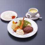 いけすの大漁や - 昼ランチ洋定食¥1,050