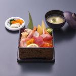 いけすの大漁や - 大漁海鮮丼¥1,575