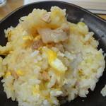 哲 - ランチセットの半炒飯