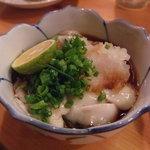 魚・旬菜小料理ととや - かき酢です。