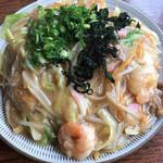 リボン - 料理写真:あんかけ焼きそば 730円