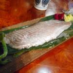 粥茶屋 写楽 - 料理写真:ホッケ刺身