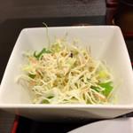 中華料理 桃源 - サラダ