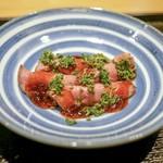 おたぎ - 料理写真:☆花山椒とローストビーフ