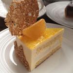 抱 le four - かがやき柑と酒粕のケーキ