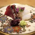 祇園 にし - けんけん鰹、石鯛、いか