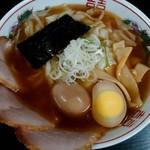 105987808 - ワンタンチャーシュー麺