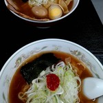 105987809 - ネギラーメン&ワンタンチャーシュー麺