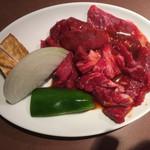 105989618 - 焼肉定食の肉