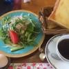 Roko - 料理写真:モーニング サラダ トースト ゆでたまご コーヒー