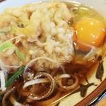 幸寿司 - 天玉そば¥430