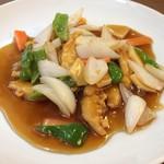 天津 - 鶏肉の甘酢かけ