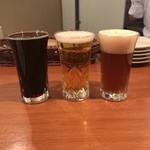 ビールバー クラウド - 飲み比べ3種1・4・10