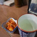 食句 - 日本酒、キムチ